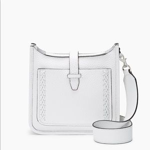 NWT REBECCA MINKOFF • Feed Unlined Whipstiched Bag
